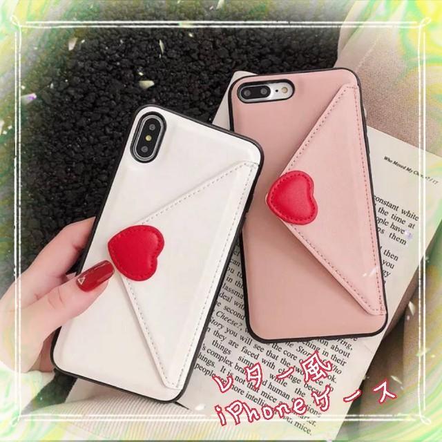 早い者勝ち!可愛い!大人気商品!白 レター風 iPhone 7/8 ケースの通販 by kumachoco's shop|ラクマ