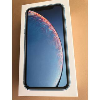 Apple - 新品 未使用 iPhonexr 64gb blue au simフリー