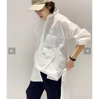 ドゥーズィエムクラス(DEUXIEME CLASSE)のAMERICANA  オーバーサイズ ボタンダウンシャツ(シャツ/ブラウス(長袖/七分))