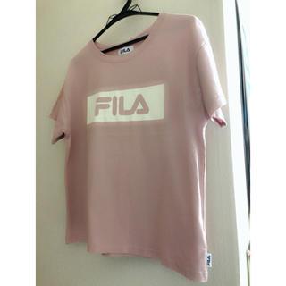 マーキュリーデュオ(MERCURYDUO)のマーキュリーデュオ FILAコラボTシャツ(Tシャツ(半袖/袖なし))
