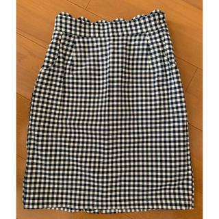 ロディスポット(LODISPOTTO)のギンガムチェックタイトスカート☆ロディスポット(ひざ丈スカート)