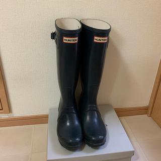 ハンター(HUNTER)のHUNTER レインブーツ UK5 24cm UV TECH付!(レインブーツ/長靴)