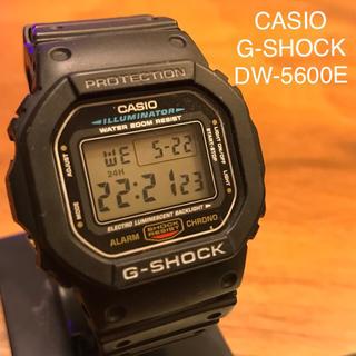 カシオ(CASIO)のG-SHOCK DW-5600E(腕時計(デジタル))