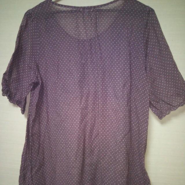 SM2(サマンサモスモス)の値下げしました!SM2 ブラウス レディースのトップス(シャツ/ブラウス(半袖/袖なし))の商品写真