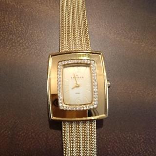 スカーゲン(SKAGEN)のスカーゲン レディース 腕時計 ゴールド(腕時計)