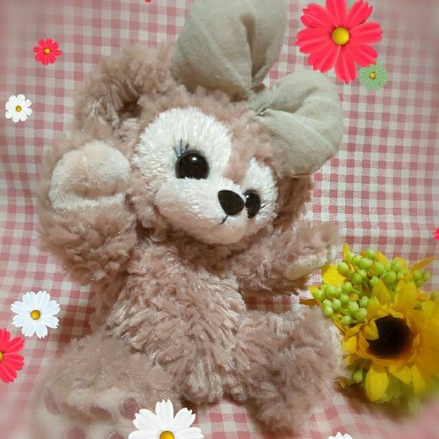 ダッフィー(ダッフィー)のシェリーメイ☆リメイク♪ポーチサイズ エンタメ/ホビーのおもちゃ/ぬいぐるみ(ぬいぐるみ)の商品写真