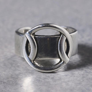 フィリップオーディベール(Philippe Audibert)の新品UA購入 PHILIPPE AUDIBERT サークルモチーフリング (リング(指輪))