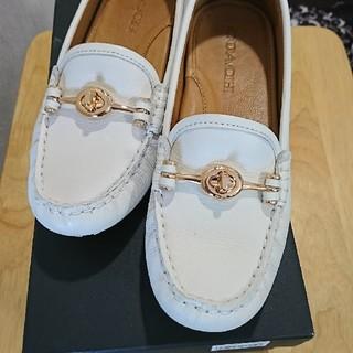 cda75cb1be97 コーチ(COACH) 靴/シューズ(ホワイト/白色系)の通販 100点以上 ...