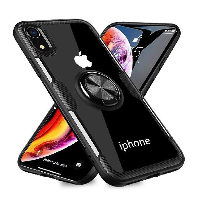 bts iphone8 ケース 、 iPhoneXRケース クリア リング 透明 磁気カーマウントホルダー スタンドの通販 by Sigi's shop|ラクマ
