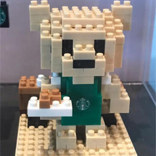 Starbucks Coffee - 海外限定 スターバックス ベアリスタ  ナノブロック