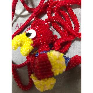 アッシュペーフランス(H.P.FRANCE)のアプロージオ & コー  新品 保存袋付き 珍しい 鳥 ネックレス 2010年代(ネックレス)