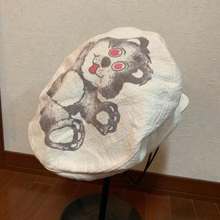ヴィヴィアンウエストウッド(Vivienne Westwood)のヴィヴィアンウエストウッド クマ ベアー 帽子(ハンチング/ベレー帽)