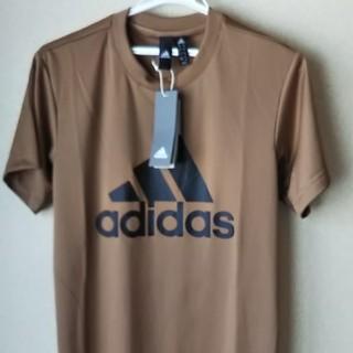 アディダス(adidas)のアディダス Tシャツ 半袖  ブラウン(Tシャツ/カットソー(半袖/袖なし))
