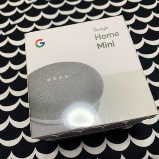 アンドロイド(ANDROID)のGoogle home mini グレー (スピーカー)