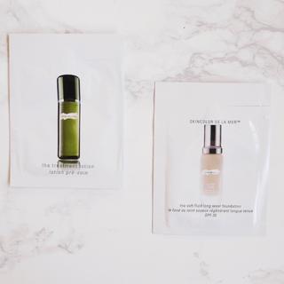 ドゥラメール(DE LA MER)のドゥラメール 化粧水+ファンデーション サンプル(化粧水 / ローション)