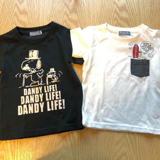 UNIQLO - 2枚セット!スヌーピー kids Tシャツ 100cm