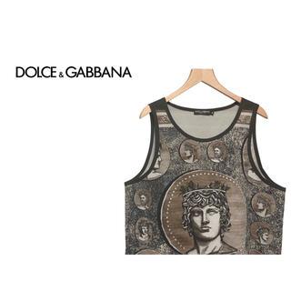 ドルチェアンドガッバーナ(DOLCE&GABBANA)のDOLCE&GABBANA ギリシャ神話 ノースリーブ カットソー / Tシャツ(タンクトップ)