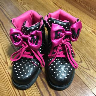 アースマジック(EARTHMAGIC)のEARTHMAGIC 靴(23) 12713(スニーカー)