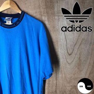 アディダス(adidas)のadidas アディダス コントラストカラー リンガー Tシャツ tee(Tシャツ/カットソー(半袖/袖なし))