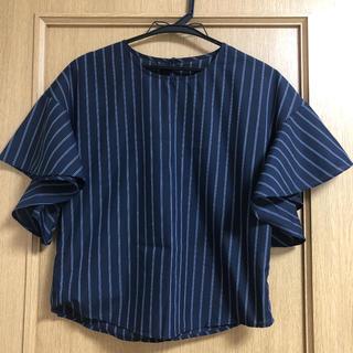 ジーユー(GU)のGU ブラウス トップス(シャツ/ブラウス(半袖/袖なし))