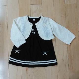 4dd8ca031c1f7 ニシマツヤ(西松屋)のワンピース+ボレロセット(ドレス フォーマル)