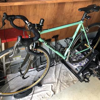 ビアンキ(Bianchi)のビアンキ クロモリ ロードバイク(自転車本体)