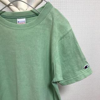 チャンピオン(Champion)のChampion チャンピオン リバースウィーブ Tシャツ グリーン(Tシャツ/カットソー(半袖/袖なし))