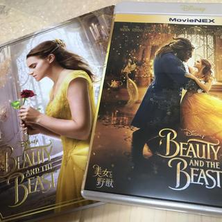 ディズニー(Disney)の新品☆ 美女と野獣 ブルーレイ+純正ケース(外国映画)