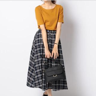 エニィスィス(anySiS)のanysis☆前飾りボタンあり上品スカートのみ(ロングスカート)