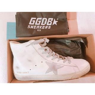 ゴールデングース(GOLDEN GOOSE)のGGDB/FRANCY ゴールデングーススニーカー 39(スニーカー)