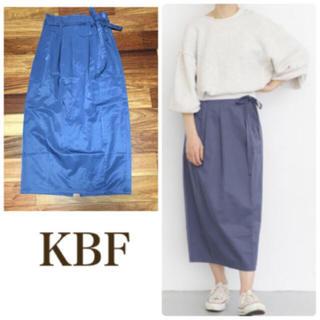 ケービーエフ(KBF)のKBF  ハイウエストスカート(ロングスカート)