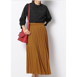 エニィスィス(anySiS)のanysis☆ロングプリーツスカートのみ新品未使用(ロングスカート)