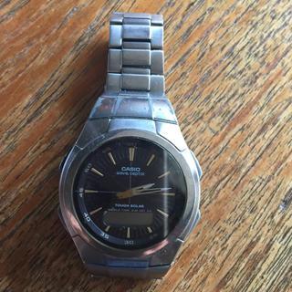 カシオ(CASIO)のカシオウエーブセクター(腕時計(アナログ))