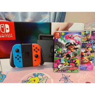 Nintendo Switch - 任天堂Switch ソフト付き