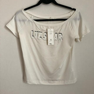 ジーユー(GU)のトップス(Tシャツ(半袖/袖なし))