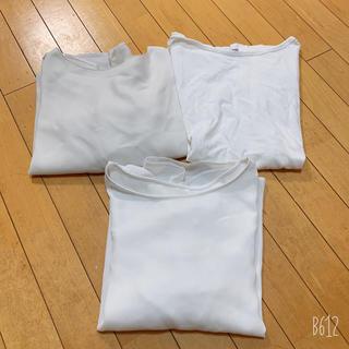 ジーユー(GU)のGU トップス 3枚セット(シャツ/ブラウス(半袖/袖なし))