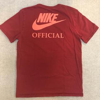 NIKE - 完売品 NIKE ヘビーウェイト コットンTシャツ 赤