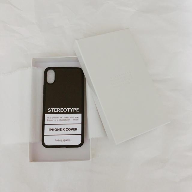 可愛い iphone7plus ケース 本物 - Maison Martin Margiela - Maison Margiela iPhone X case black 黒の通販 by たろう's shop|マルタンマルジェラならラクマ