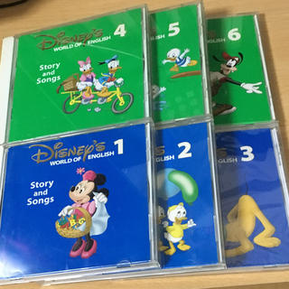 ディズニー(Disney)の 歌詞付き DWE story and songs CD ディズニー英語システム(知育玩具)