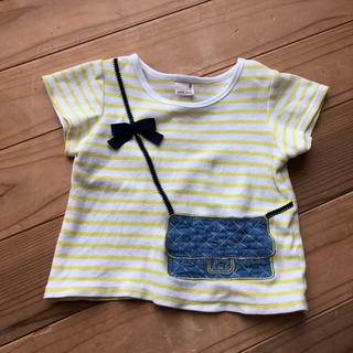 プティマイン(petit main)のプティマイン♡ボーダー♡半袖♡トップス♡Tシャツ♡100♡カットソー(Tシャツ/カットソー)