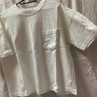 ジーユー(GU)のTシャツ ジーユー 白T(Tシャツ(半袖/袖なし))