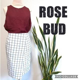 ローズバッド(ROSE BUD)の【ローズバッド】スカート(ひざ丈スカート)