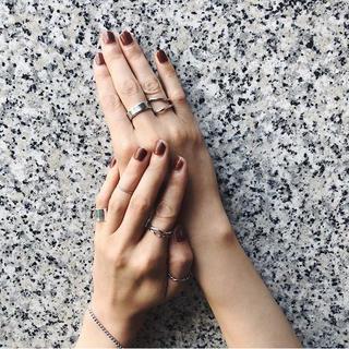 トゥデイフル(TODAYFUL)のgrun  シルバーリング(リング(指輪))