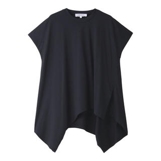 エンフォルド(ENFOLD)のENFOLD スビン天竺アシンメトリーヘムプルオーバー(Tシャツ(半袖/袖なし))