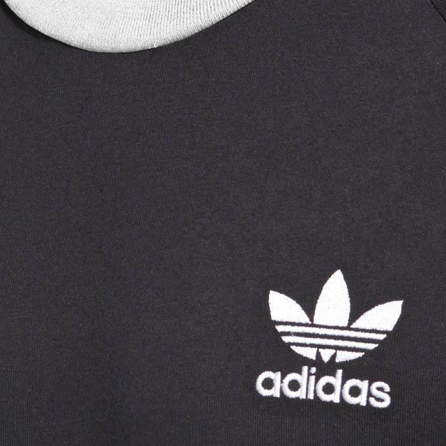 adidas(アディダス)のO【新品/即日発送OK】adidas オリジナルス Tシャツ 3ストライプ 黒 メンズのトップス(Tシャツ/カットソー(半袖/袖なし))の商品写真