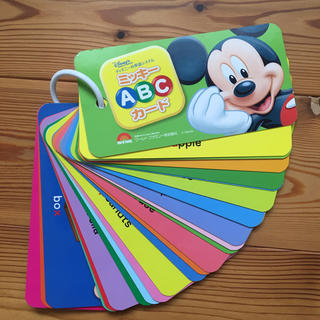 ディズニー(Disney)のディズニー英語システム ABCカード(知育玩具)