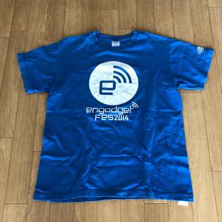 BEAMS - BEAMSXEngadget FesコラボTシャツ(ブルー)