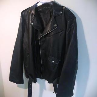 ザラ(ZARA)のダブルライダースジャケット オーバーサイズ   韓国 dude9 lidnm(ライダースジャケット)