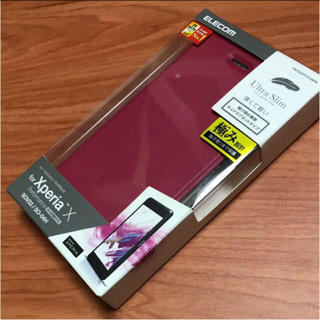 b4f52d9ab3 ELECOM - Xperia XZ1 Compact (SO-02K)用ストラップ付ソフトレザーの通販 ...