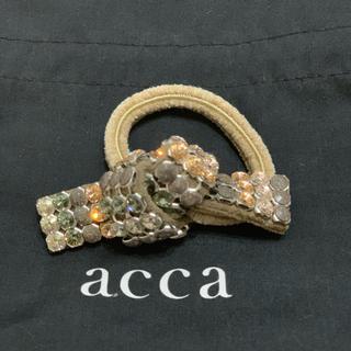 アッカ(acca)のacca 新品リボンヘアゴム(ヘアゴム/シュシュ)